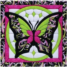 Quilt Magic 12-Inch by 12-Inch Butterfly II Kit by Quilt Magic. Make a unique quilted wall hanging to decorate any room in the house.   http://www.amazon.ca/gp/product/B004C6JSYC/ref=cm_sw_r_pi_alp_MheKrb0J2JG6V