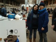 100palców team at Przetwory (Preserves - International Recycling Festival) in Warsaw (14 - 15.12.2013)