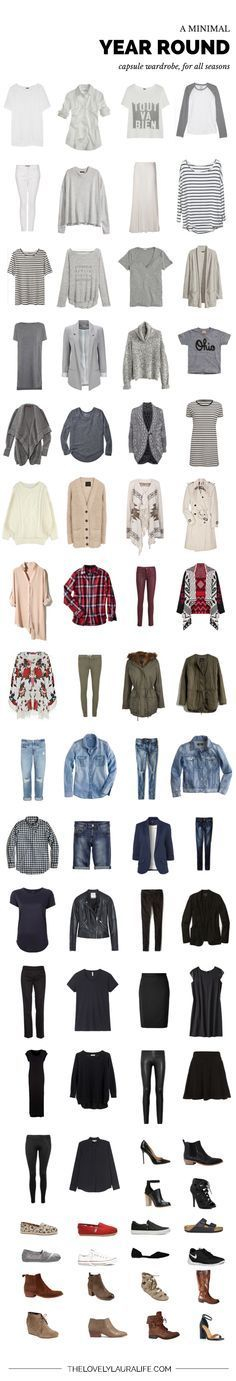 My all seasons capsule wardrobe / spring 2015 The ultimate goal!