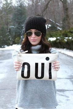 Oui Pouch by Clare V #anthroregistry