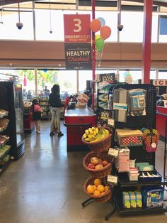 Check out the latest healthy checkout aisle! A Grocery Outlet in Solano County, CA has transformed one of its aisles into a healthy snack destination! (Grocery Outlet, Vallejo, CA, Made Goods, Healthy Snacks, Veggies, Fruit, Check, Health Snacks, Vegetables, The Fruit, Healthy Snack Foods