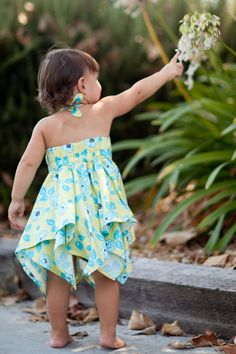 Childrens sewing pattern-cute!!! This would be SO CUTE on all three of the girls!!  Timeless!