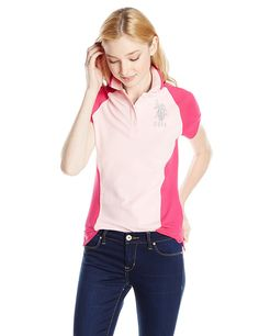 U.S. Polo Assn. Juniors Long Sleeve Crew Neck 1X1 Baby Rib T-Shirt >>> Special  product just for you. See it now! : Fashion