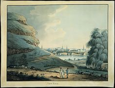 Attributed to Archibald Robertson (American, 1765–1835). Collect Pond, New York City, 1798. Formerly attributed to Alexander Robertson (1772–1841). The Metropolitan Museum of Art, New York. The Edward W. C. Arnold Collection of New York Prints, Maps, and Pictures, Bequest of Edward W. C. Arnold, 1954 (54.90.168) #newyork #nyc