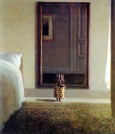 Michael Sowa - Rabbit in front of a mirror (1998)