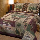 Found it at Wayfair - Moose Lodge 3 Piece Quilt Set