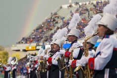 Check out this great shot taken by #BoiseState Photo Services of the Blue Thunder Marching Band at the Sept. 13 Boise State Broncos football game against Air Force.  Be sure to catch Blue Thunder at the Boise State Homecoming Parade at 2:30 p.m. Saturday, Oct. 19 on University Drive. #BroncosHome