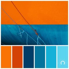 Orange And Blue Color Scheme House Beautiful