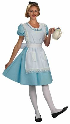 Alice In Wonderland Adult Womens Halloween Costume