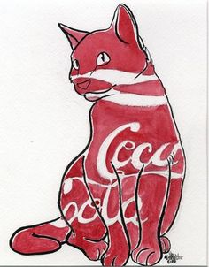 Coca-Cola Cat © 2011 The Coca-Cola Company, all rights reserved.