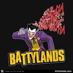 Battylands T-Shirt - Joker T-Shirt is $13 today at Ript!
