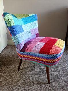 Hooking Crazy: Granny Chair Ta-Dah!