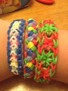 Cool rainbow loom ideas