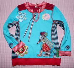 Shirt HILDE (Schnitt: Farbenmix)