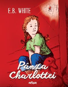 Pânza Charlottei - E. Bbc, Comic Books, Comics, Cover, Kids, Movie Posters, Charlotte, Young Children, Boys