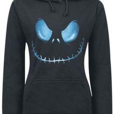 Active Hooded Skull Printed Pullover Black Hoodie... £5.98