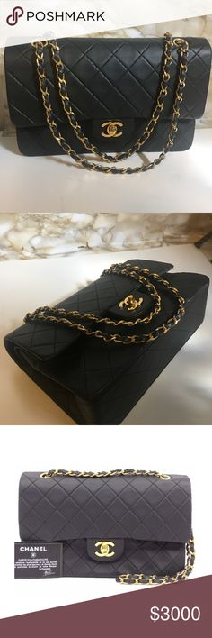 Chanel Double flap double chain 10