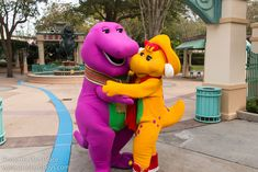 Information about Barney () and pictures of Barney including where to meet them and where to see them in parades and shows at the Disney Parks (Walt Disney World, Disneyland, Disneyland Paris, Tokyo Disneyland) Disney Parks, Walt Disney World, Tokyo Disneyland, My Princess, Creepy, Disney Characters, Cartoons, Wallpaper, Christmas