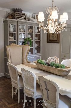 French Country Dining Room Ideas a charming french country dining room white wainscoting, dark