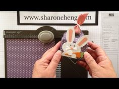 Envelope Punch Board Basket with Sharing Creativity and Company