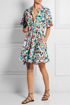 Saloni shirtdress