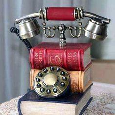 A book telephone!