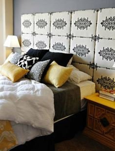 Combining Some Ethnical Patterns of Ethnic Eclectic Bedroom
