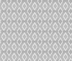 We LOVE this fabric for the main part of the curtains. We want to find something with blue/ turquoise for an accent strip at the top @jhgjr  Aztec Crosshatch Gray fabric by leanne on Spoonflower - custom fabric