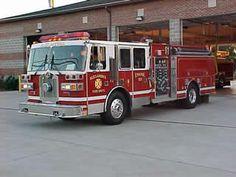 "Alexandria Fire Department (KY)    Engine Co 101 1993 Sutphen Custom Pumper 6 Man Cab 1500 GPM Hale Pump 750-Gallon Tank 1500' 5 inch hose 1150' 3 inch hose 1050' 1 ¾""Hi-Combat Attack Line  http://setcomcorp.com/singlesys.html"