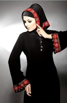 Latest Fashion Abayas Collection 2012 By Meemseen | New MeemSeen Black Abayas 2012/13
