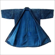 Antique Japanese Noragi Zanshi Indigo Cotton Farmer Jacket