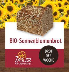 🌻Unser BIO-Sonnenblumenbrot ist das Brot der Woche🌻  Die Sonne lacht, hat sie uns doch ganz schön gemacht, jeder Mensch und jedes Korn, perfekt im Sonnenlicht geboren, darum lass es so, ganz gut wie's ist, weil du dir wohlgesonnen bist. ☀️🍞 ➡️ Zutaten: Wasser, Bio-Roggen, Bio-Weizen, Bio-Sonnenblumenkerne, Meersalz, Bio-Koriander, Bio-Kümmel, Bio-Fenchel, Bio-Anis  Holt euch jetzt die pure Lebensfreude und Fröhlichkeit in Form eines Brotes ☀️😍 #zagler #zaglernaturbäckerei #naturbäckerei… Korn, Desserts, Sunflower Seeds, Sea Salt, Rye, Sunlight, Fennel, Cilantro, Tailgate Desserts