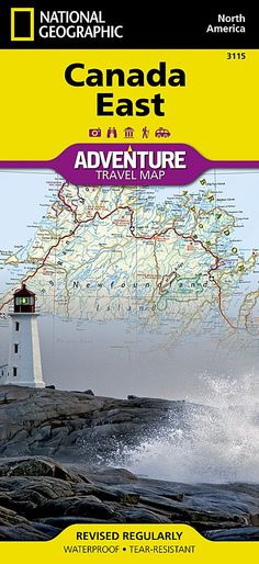 Buy map: Canada, East Adventure Map 3115 by National Geographic Maps – YellowMaps Map Store