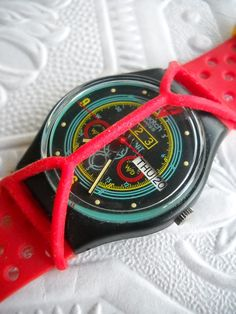 Swatch with a guard. We used to twist the guards.