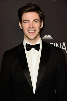 Grant Gustin at InStyle and Warner Bros. 2016 Golden Globe Awards Post Party...