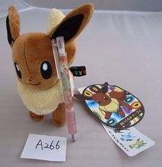 Pokemon Center Eevee Evoli 이브이 collection  Plush Doll bag With gifts #PokemonCenter
