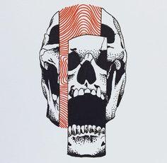 Saved onto Concepts & Illustrations Collection in Illustration Category Arlo Tattoo, Art Sketches, Art Drawings, Desenho Tattoo, Daily Drawing, Grafik Design, Skull Art, Cat Skull, Dark Art