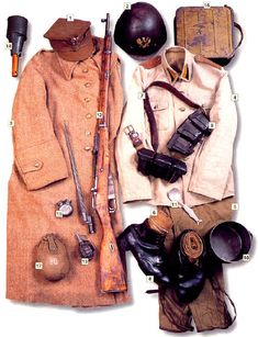 37 Military Uniforms Worn By Soldiers During World War II - Page 2 of 4 - History Daily Military Gear, Military Equipment, Military History, Ww2 Uniforms, Military Uniforms, Military Insignia, Army Uniform, Red Army, Dressed To Kill