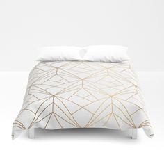 Geometric Gold Patte