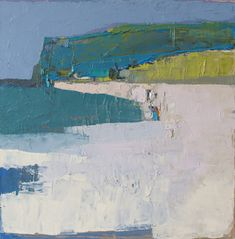 becky blair * artist - paintings: southern cliffs