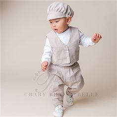Boys Christening Suit  - Braden Christening/Baptism Collection - Adorable Gowns & Suits
