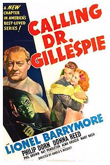 Kildare's mentor, Dr. Gillespie, portrayed here and in earlier films by Barrymore, became the lead character. Description from en.wikipedia.org. I searched for this on bing.com/images