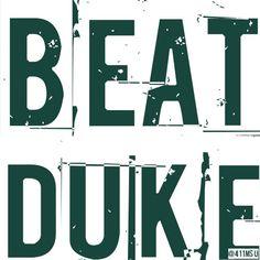 #BeatDuke #MSU #Spartans