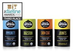 The Dieline Awards: Third Place - Home, Garden, Pets - Organic PetSuperfood - The Dieline -
