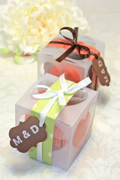 Shower Favors  French Macaron Favor Boxes  by IndayaniBakedGoods, $172.50