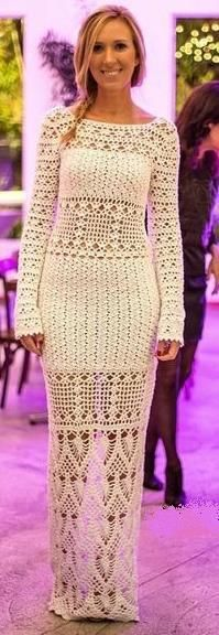 crochet dress by Lilly Sarti