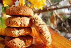 galletas de chufa y pepitas de chocolate, veganas, sin azúcar y con ingredientes naturales! www.venusanzchef.com