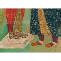 #Earlyminiature #painting #detail #india