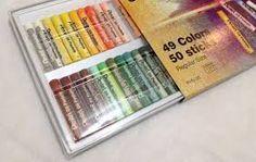 Resultado de imagem para como pintar com giz pastel oleoso