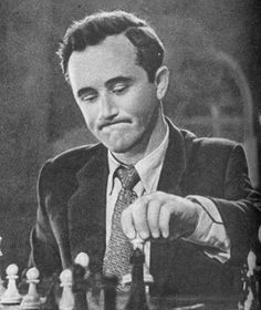 Efim Geller, Russian GM & noteworthy for giving Bobby Fischer more trouble than other opponents. Fischer did, however, win their encounter en route to the match with Spassky in 1972.